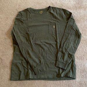Men's long sleeve Polo brand tee shirt.